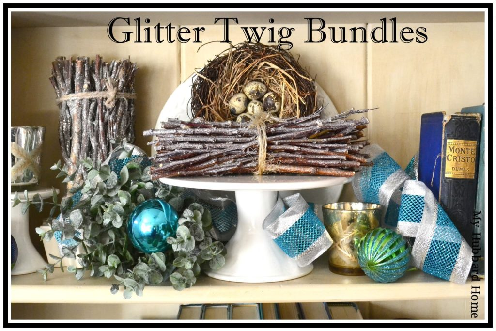 November Glitter Twig Bundles
