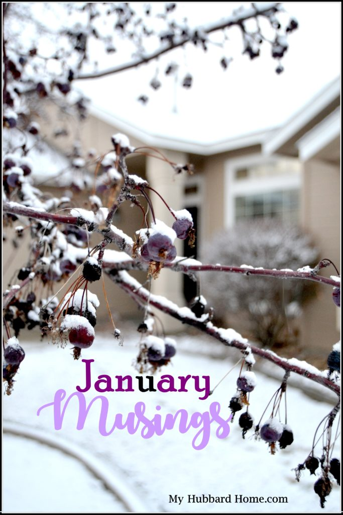 January Musings