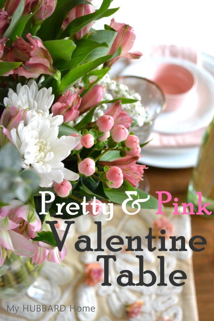 Pretty & Pink Valentine Table