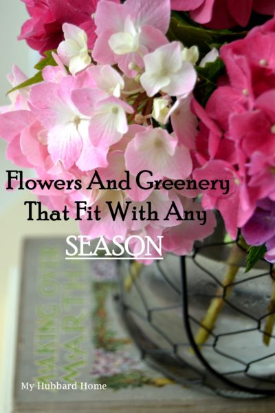 Flowers and Greenery that Fit with any Season