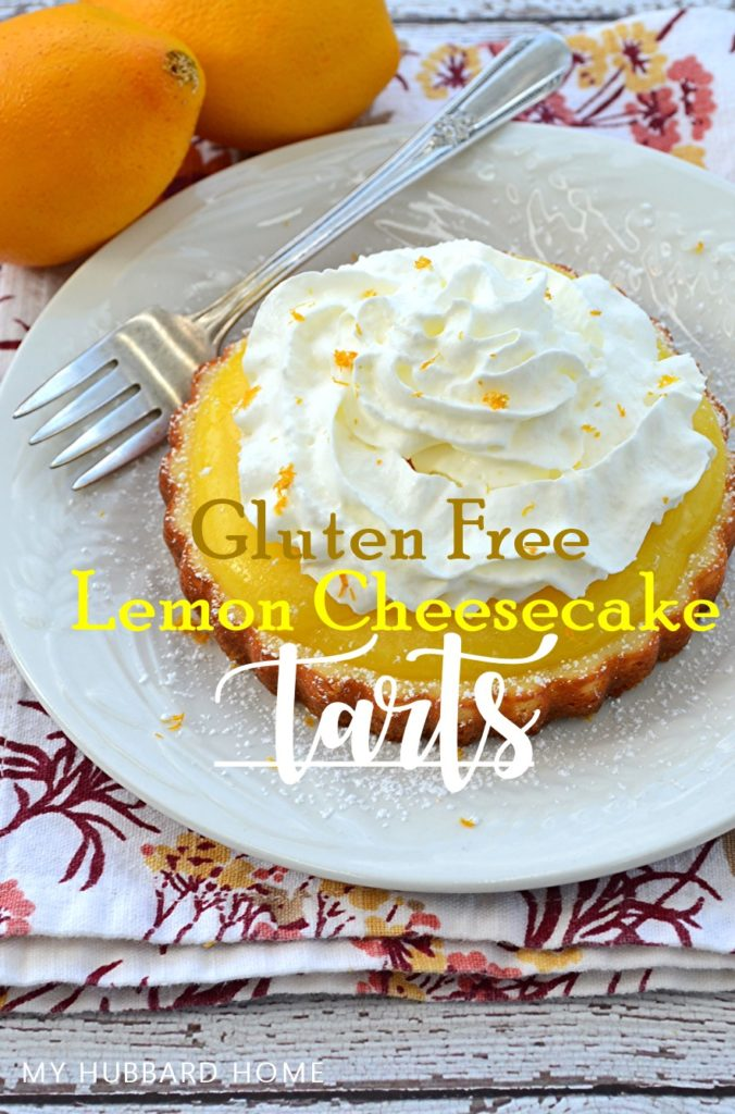 Gluten Free Lemon Cheesecake Tarts