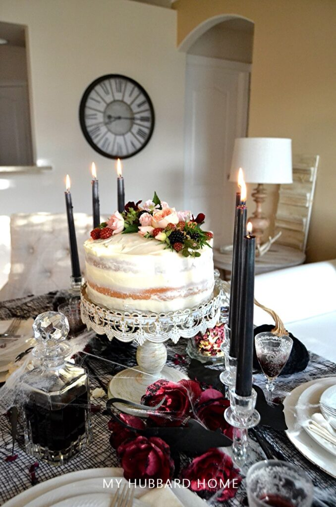 Miss Havisham Regrets Tablescape
